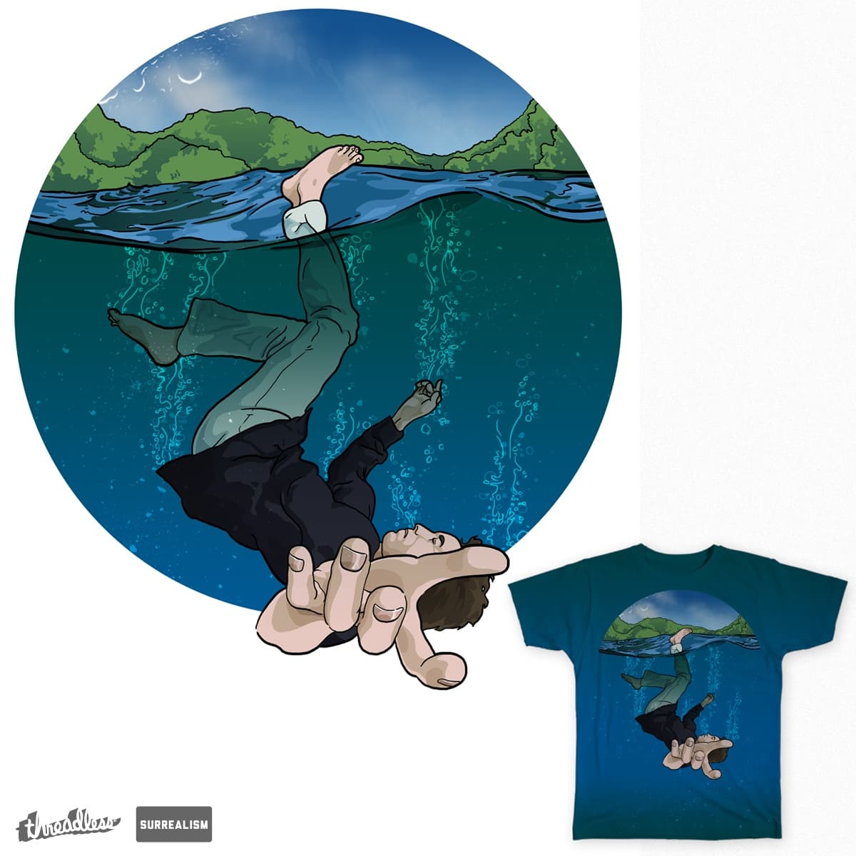 Just Because You Stopped Sinking  by DapperDanSays on Threadless