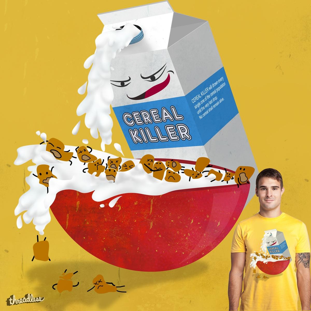 Cereal Killer by nidya on Threadless