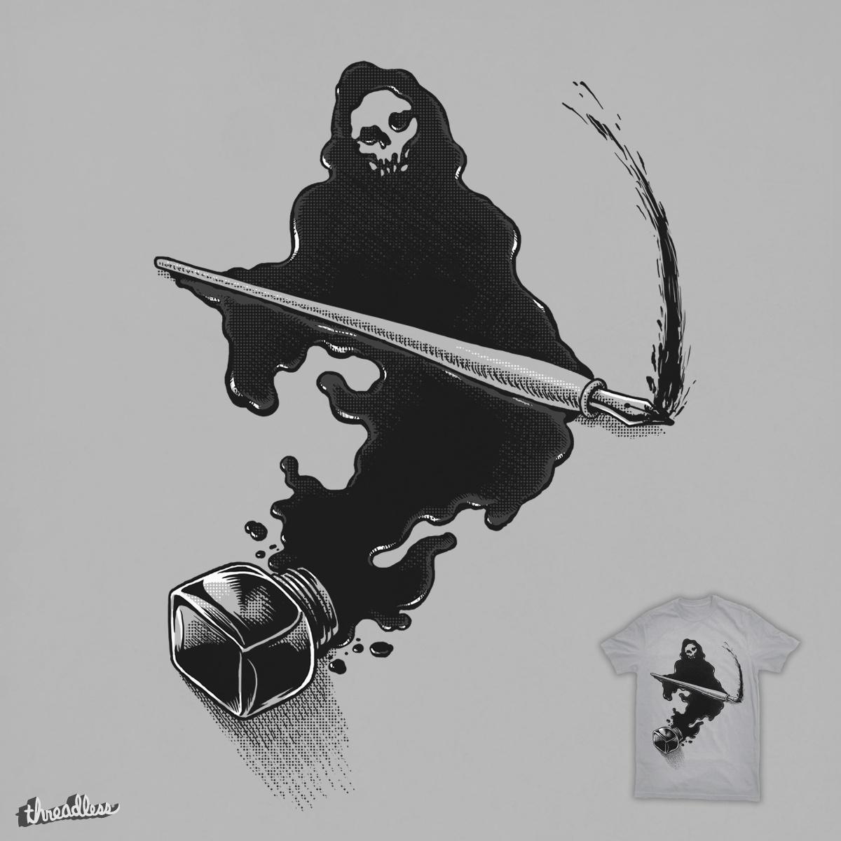 Grim Reaper Ink by ben chen on Threadless