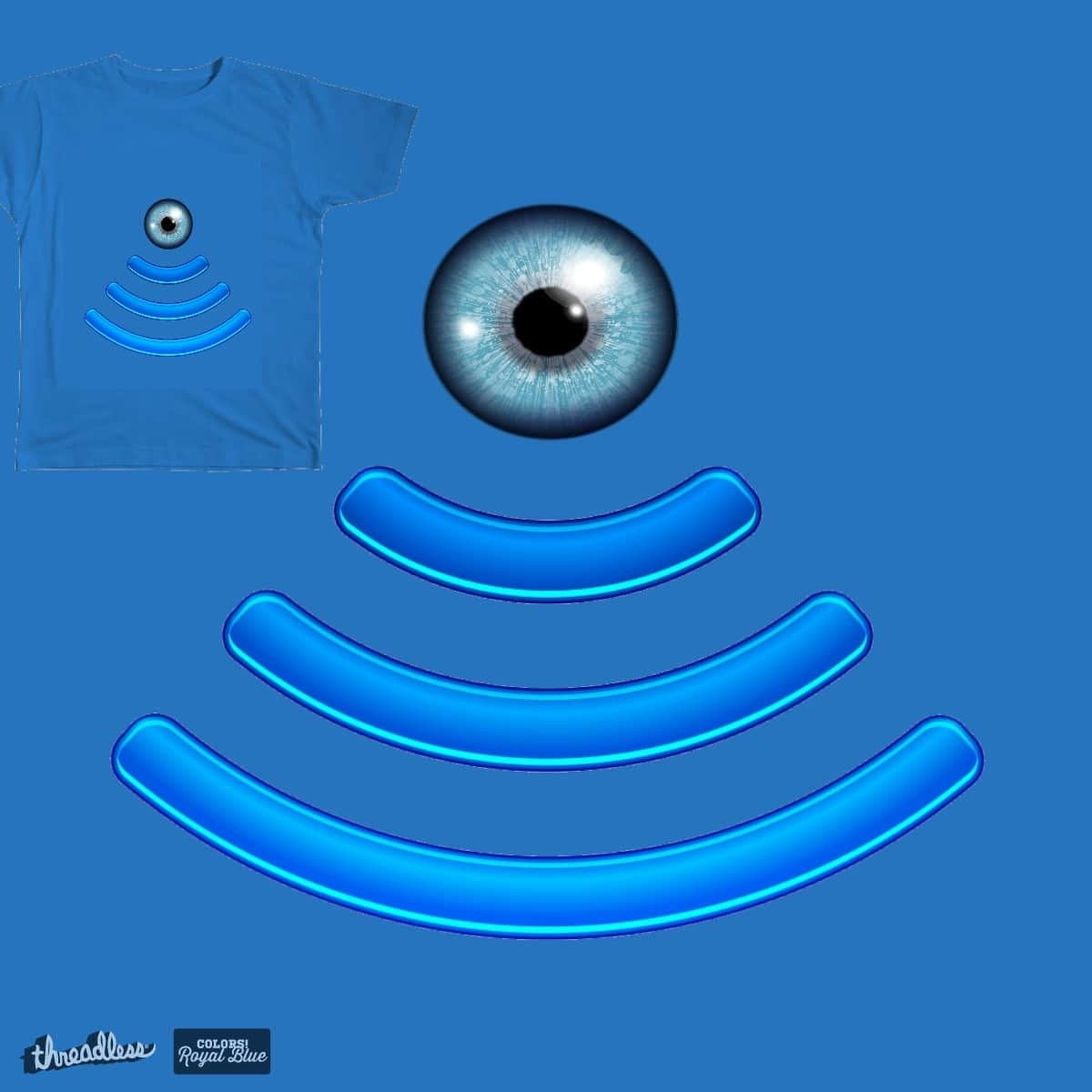 BLUE EYE by metal_kid on Threadless