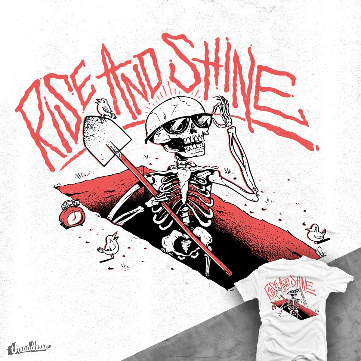 Good Mourning  by citizen rifferson on Threadless