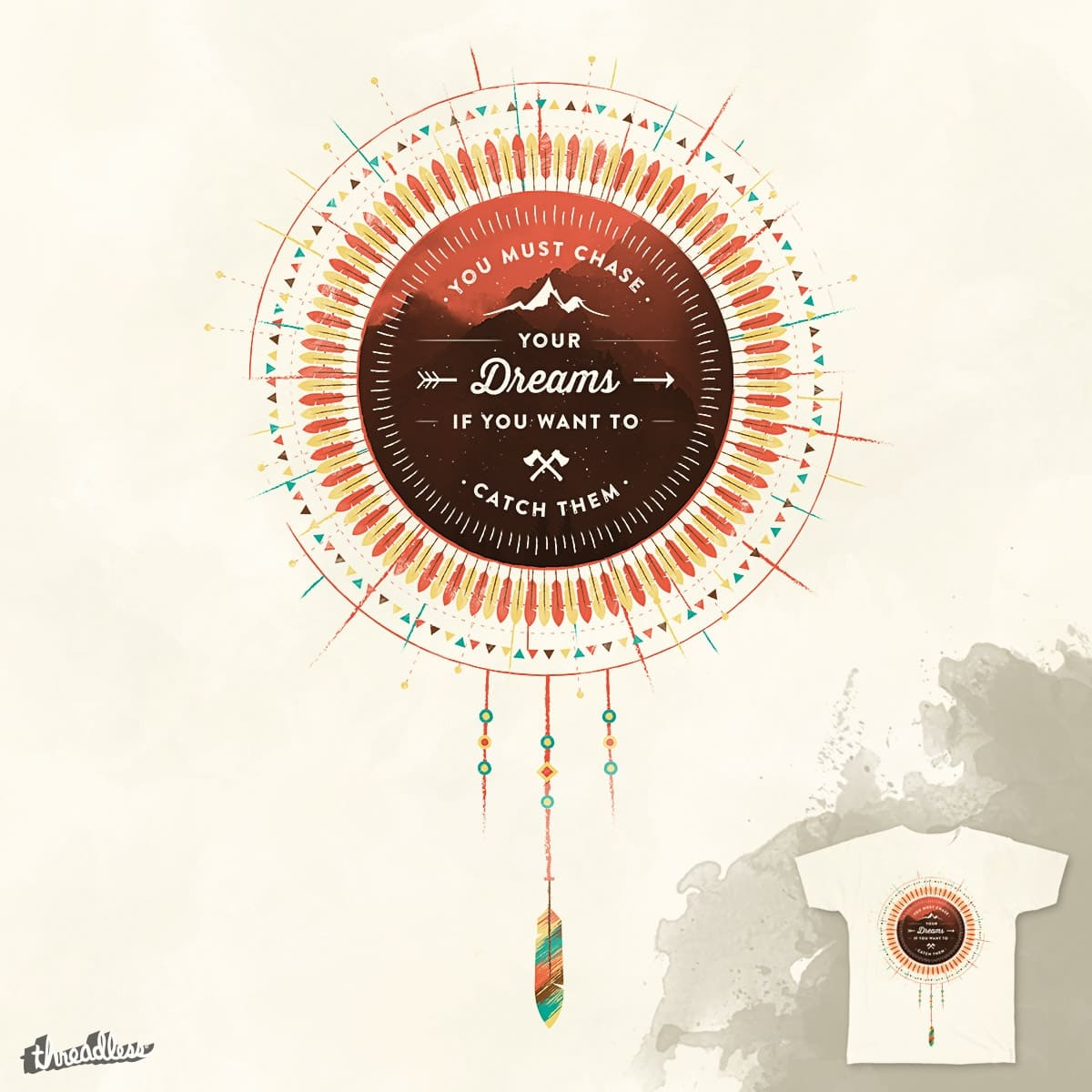 Native Wisdom by JohnArends on Threadless