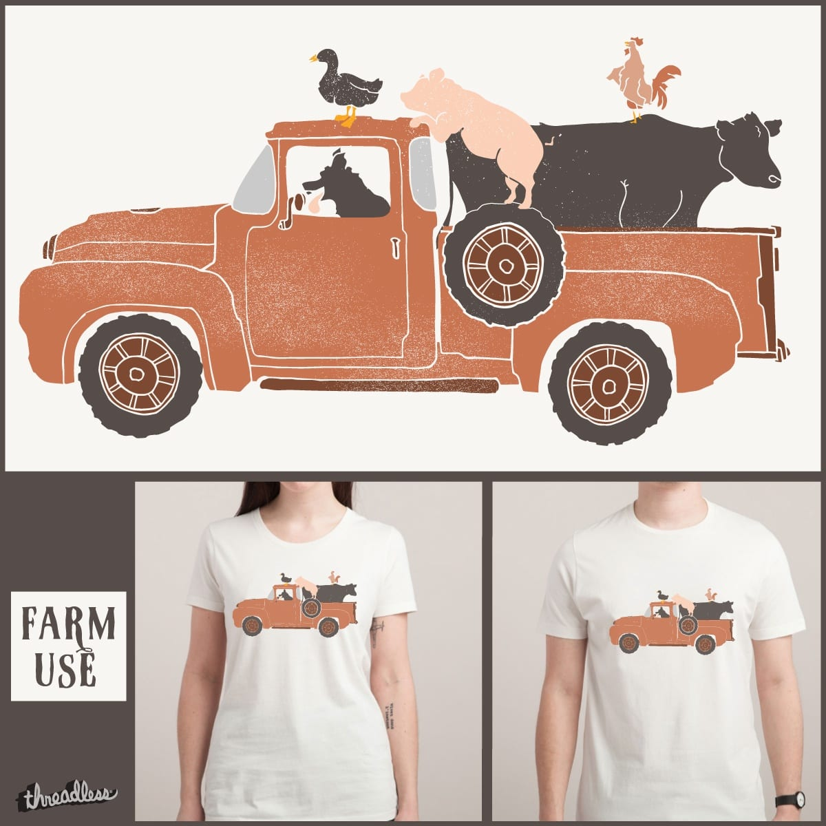 Farm Use... by NDTank on Threadless
