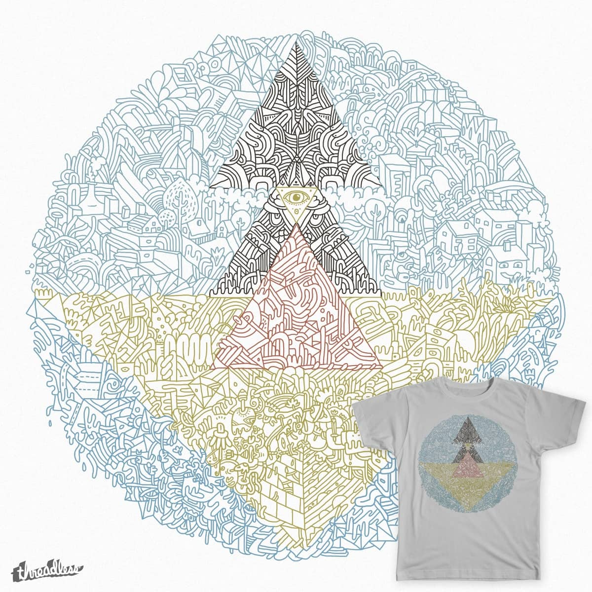 Growing dreams by camellie on Threadless