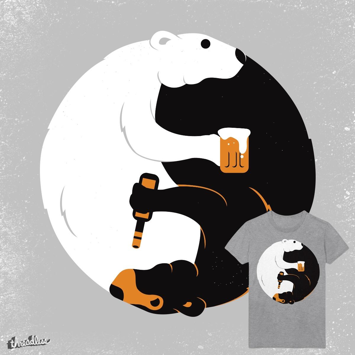 Bears & Beer by barbar monkey on Threadless