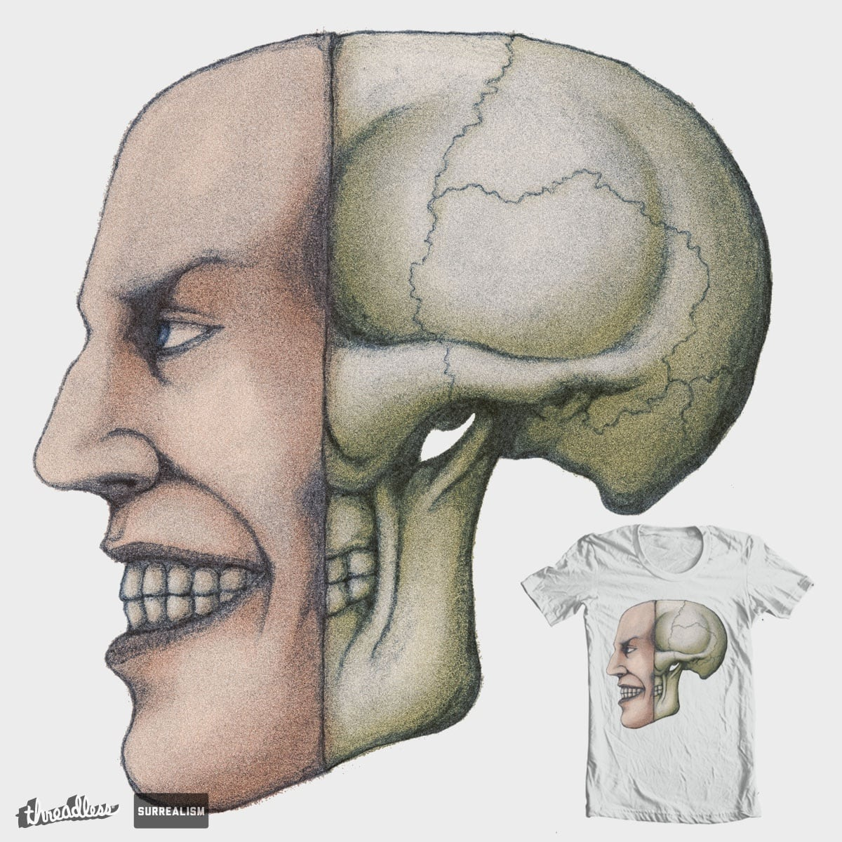smile to death by gilprim on Threadless