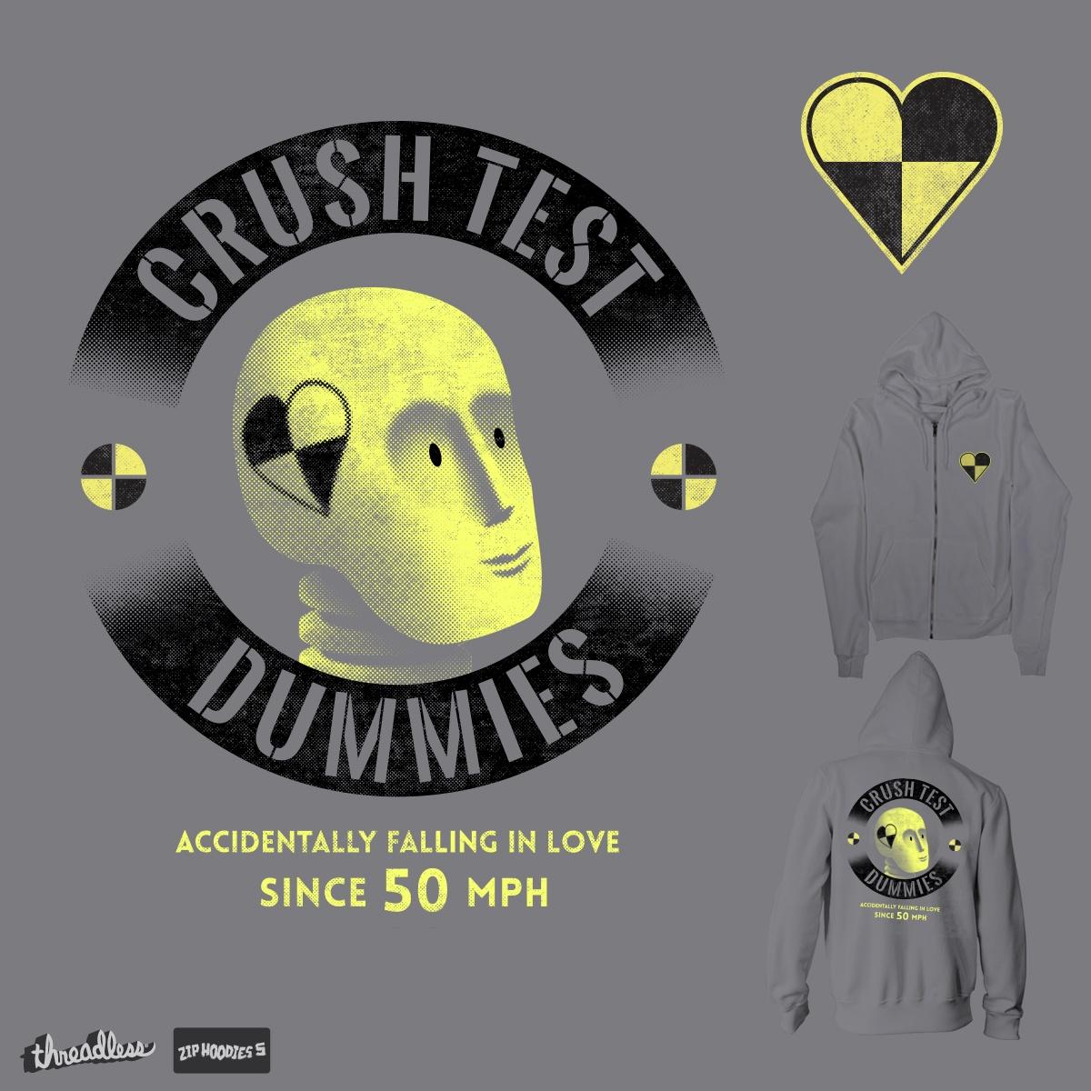 Crush Test Dummies by biernatt on Threadless