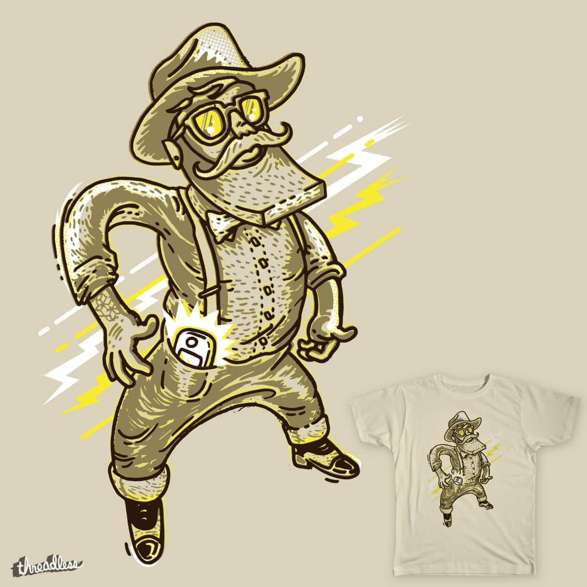 Desenfunda, Hipster! [Hipster Fast Draw!] by Jesusrodriguez on Threadless