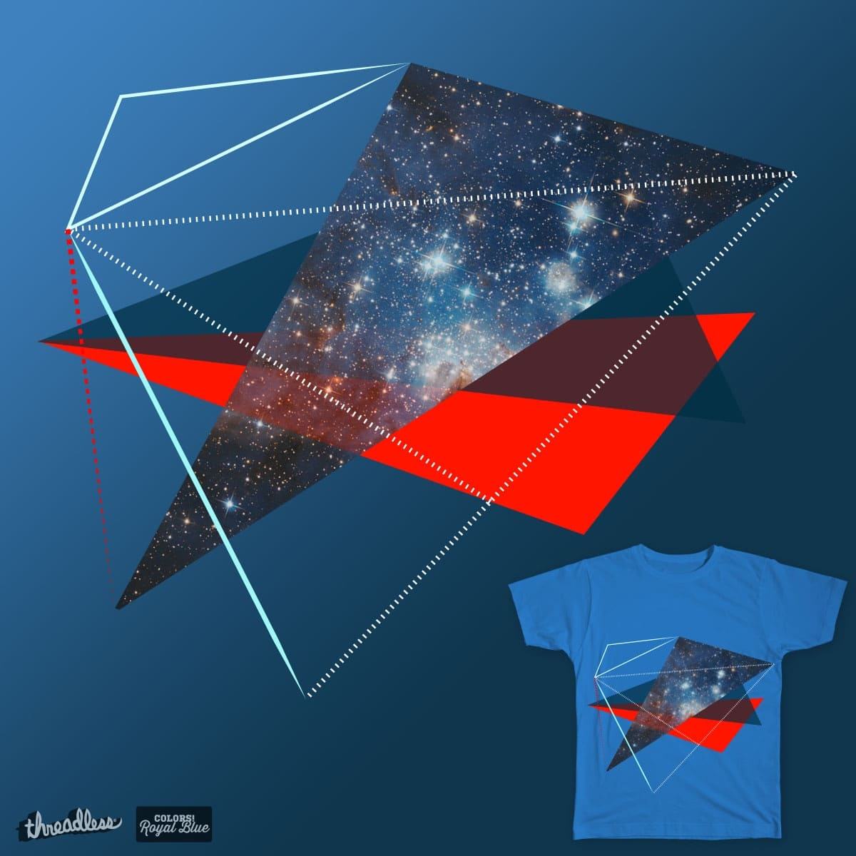 Space zone by Parin on Threadless