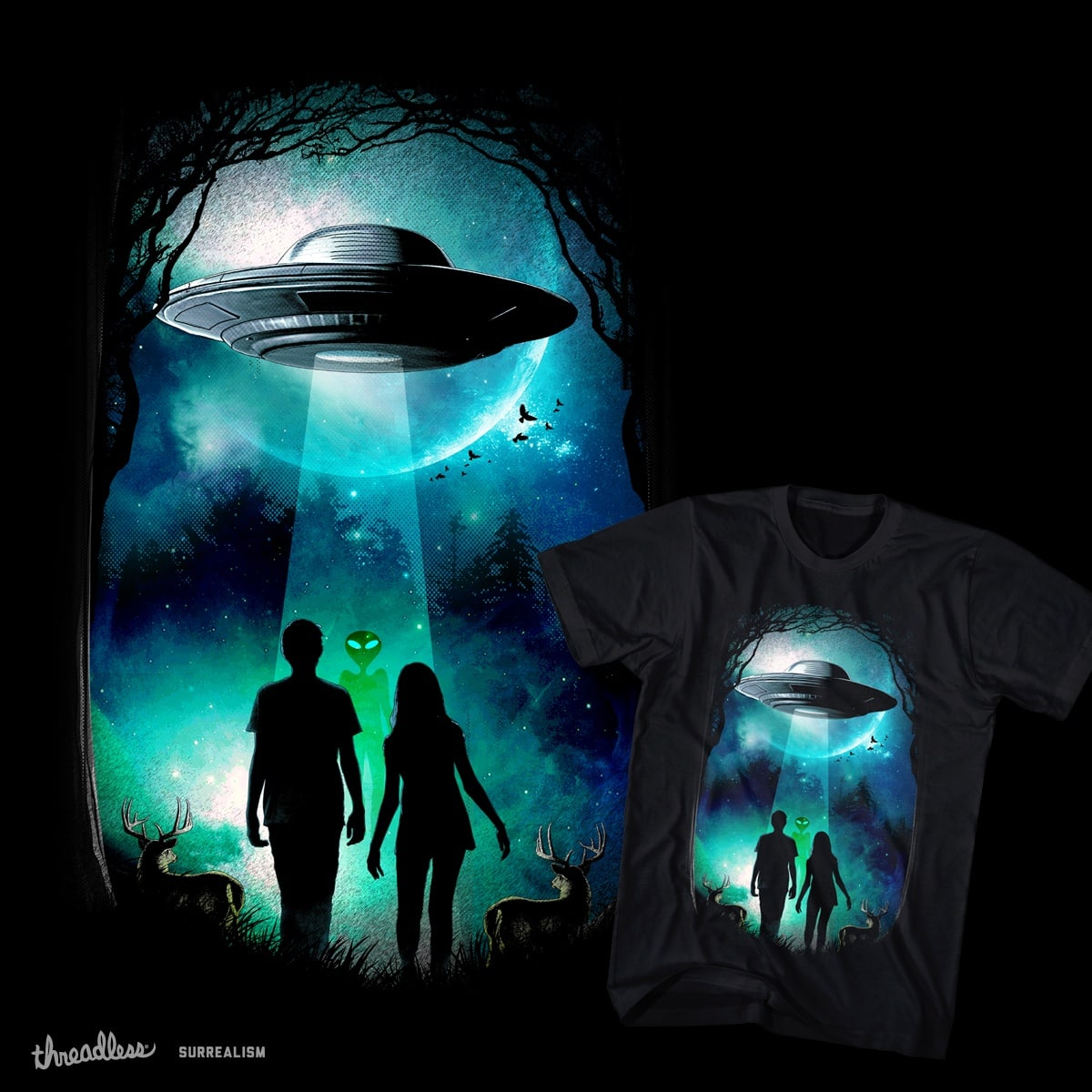 The Visitor by chingmoncheng on Threadless