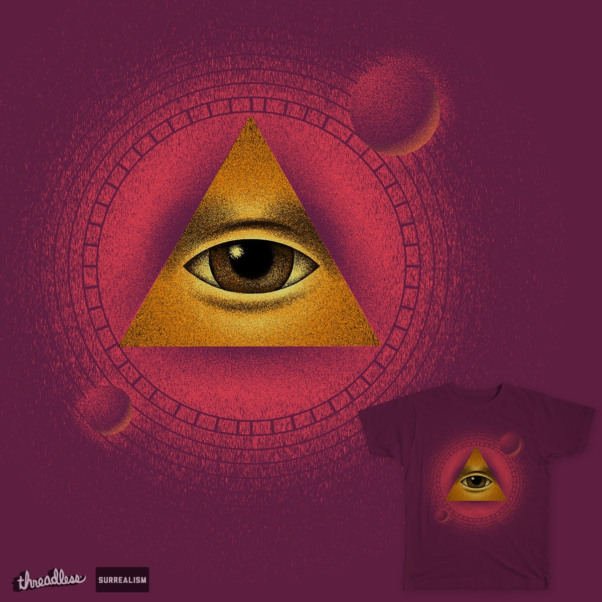 I am the eye in the sky by arsmephisto on Threadless