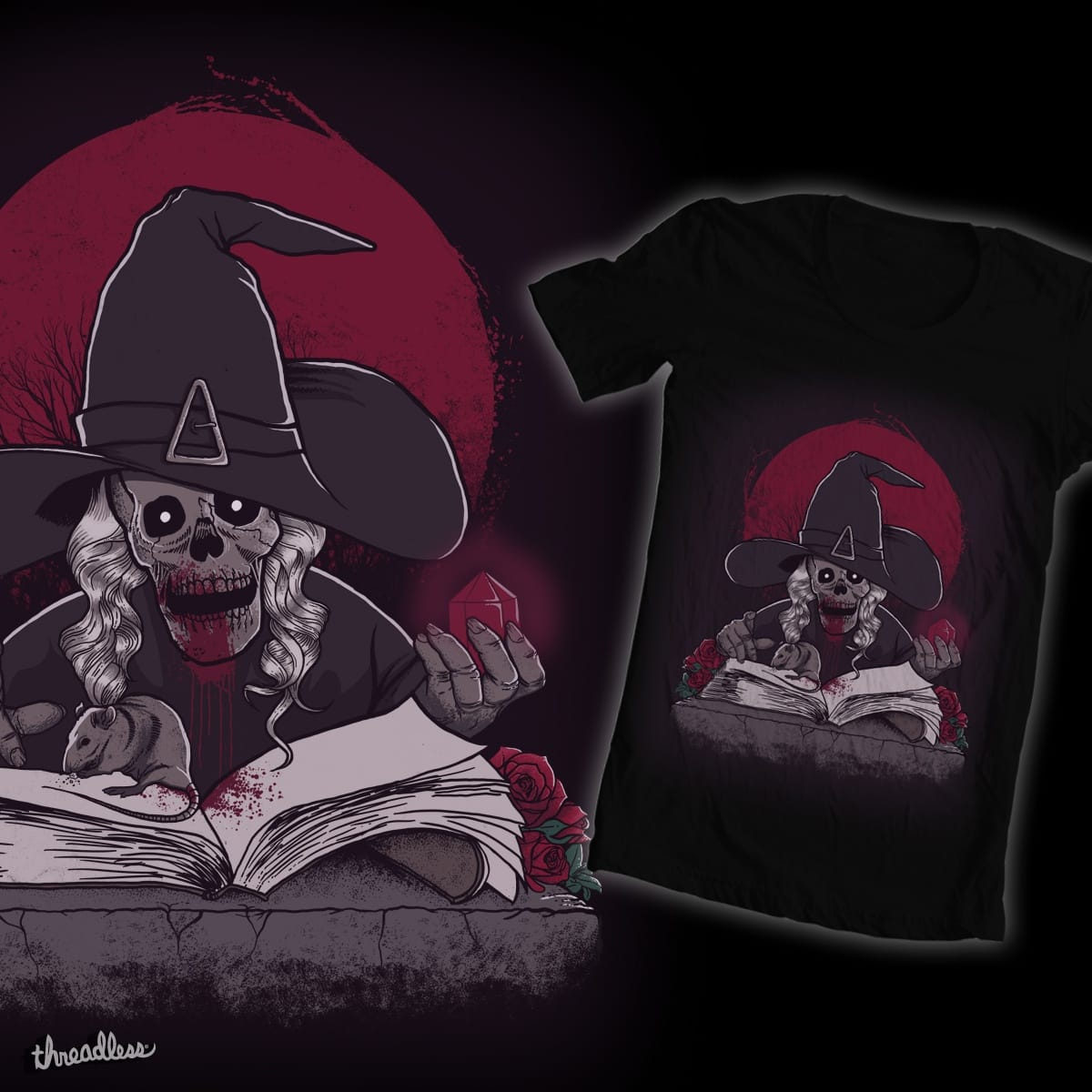 La Bruja  by Maxmegapixel on Threadless