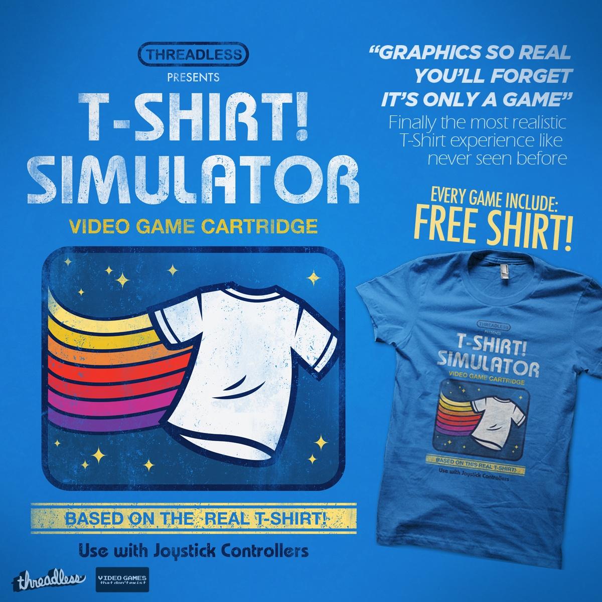 T-Shirt Simulator by Melee_Ninja on Threadless