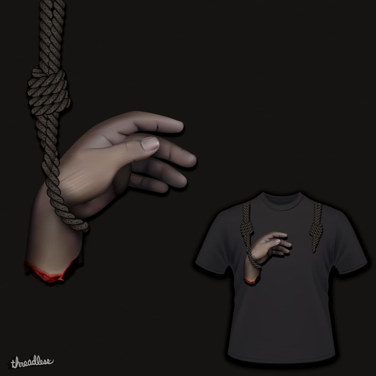 A Shoulder to Hang On by monsterevox on Threadless