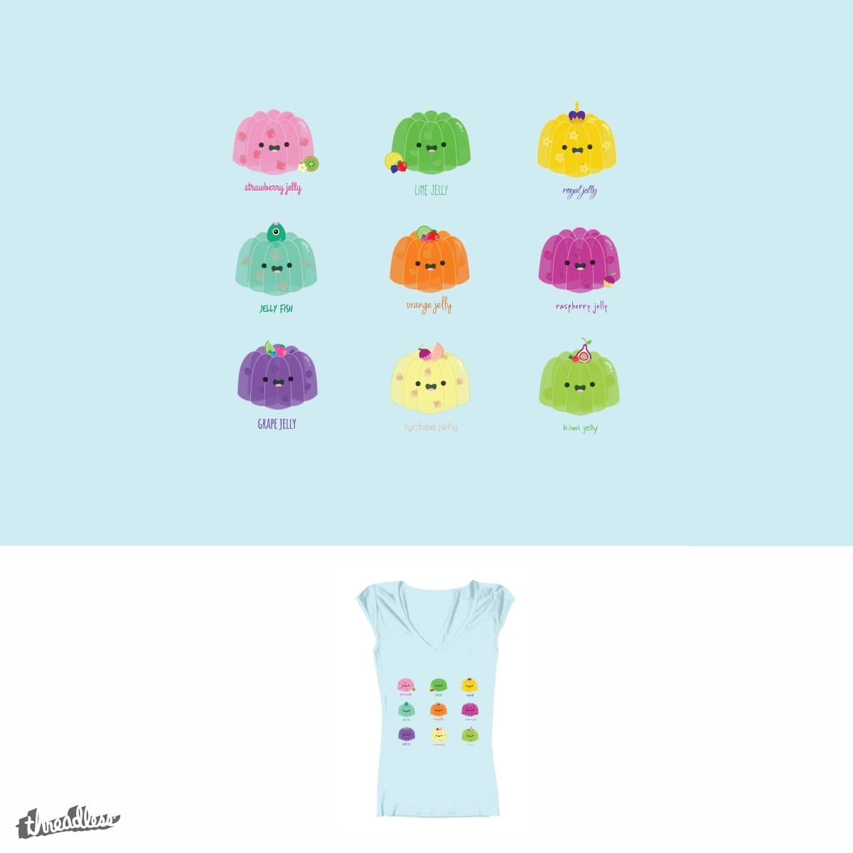 I Don't Think You're Ready for this Jelly by tootoo on Threadless