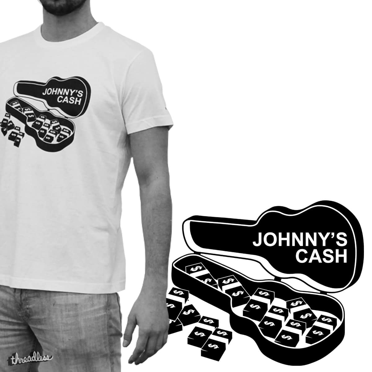JOHNNY'S CASH by FASTDESIGN on Threadless