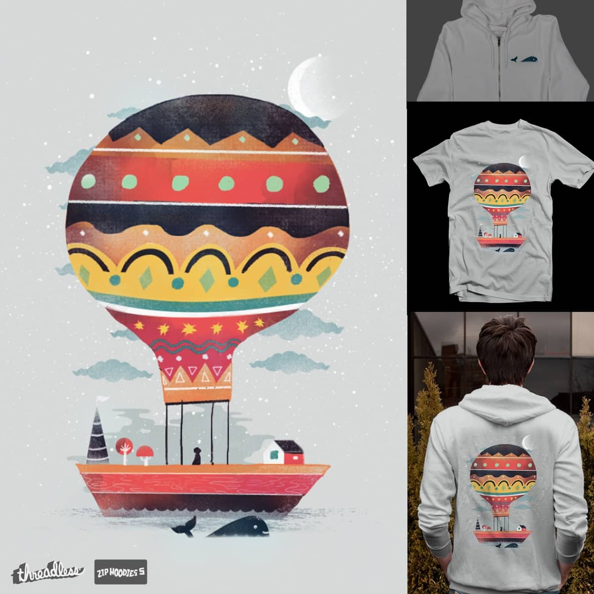 Fly me to the Moon by dandingeroz on Threadless