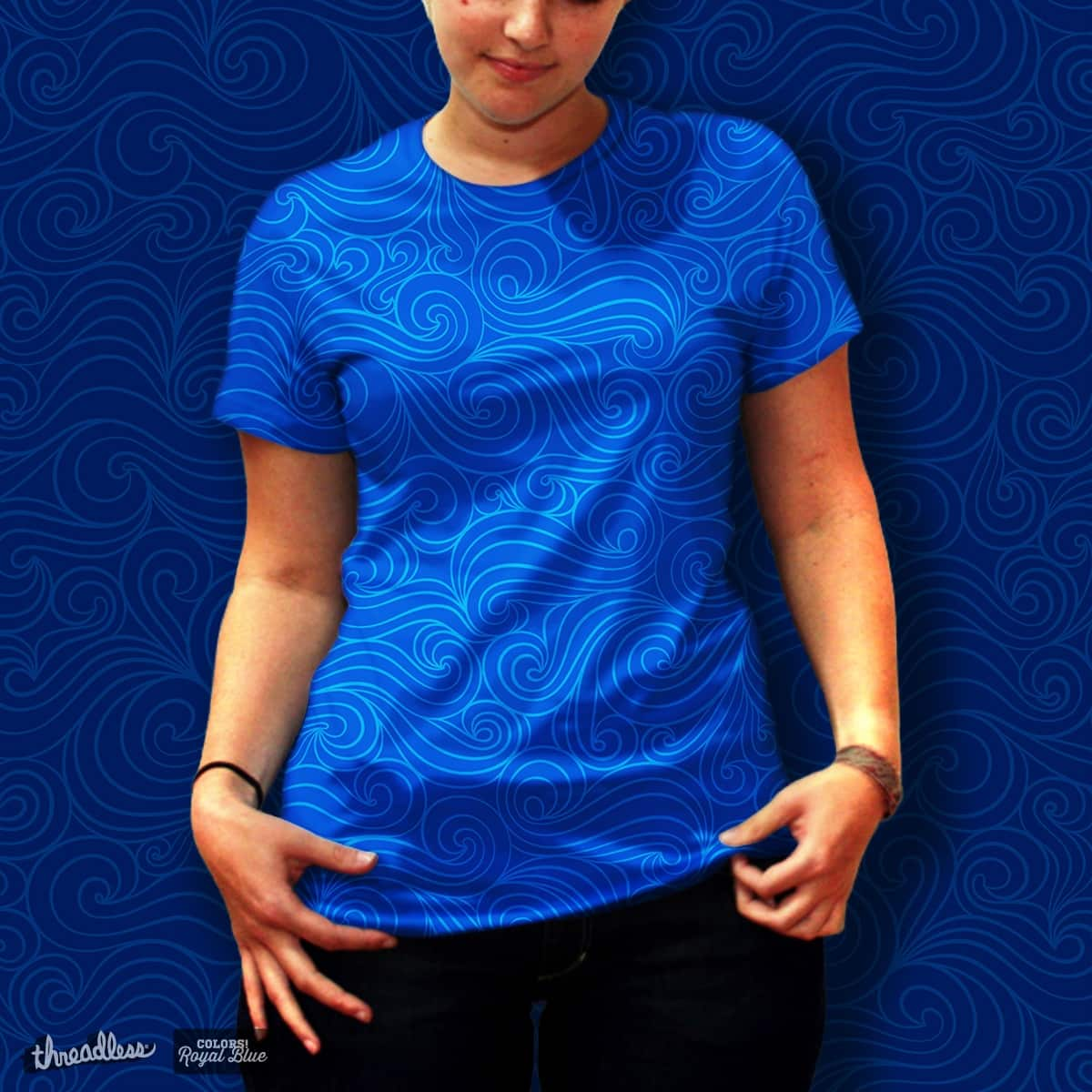 Ocean by OliOpi on Threadless
