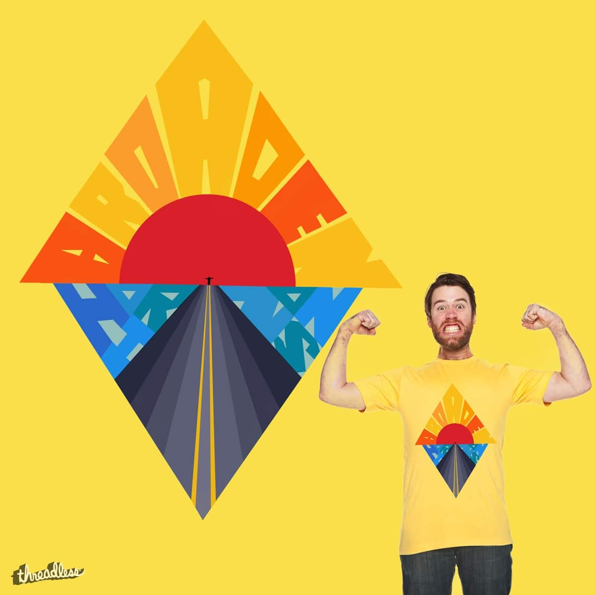 Broaden Your Horizons by BlueHairedCat on Threadless