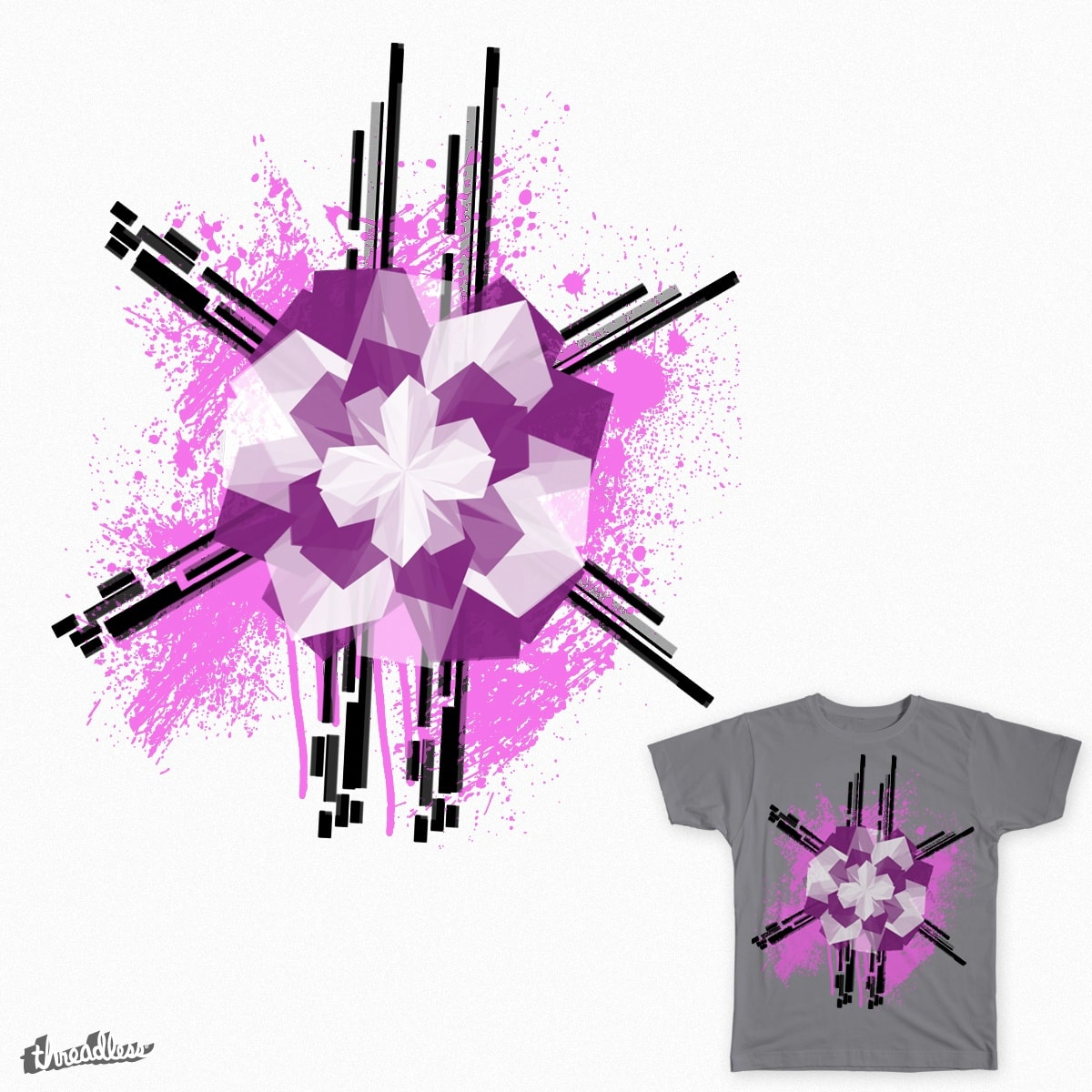 Paint My Blossom by aaron_galaxy on Threadless