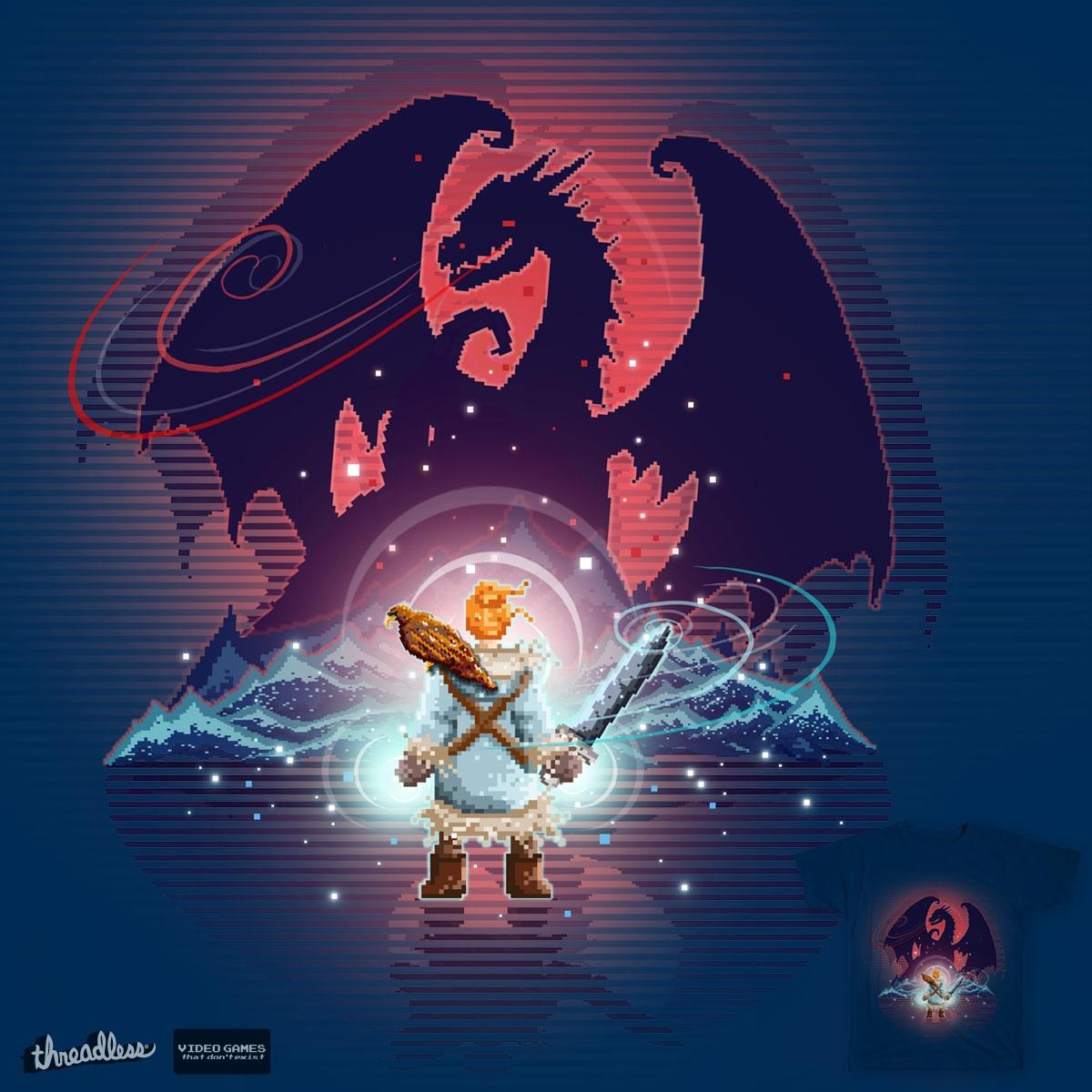 Sylvan's Legend by RoseMakesArt on Threadless