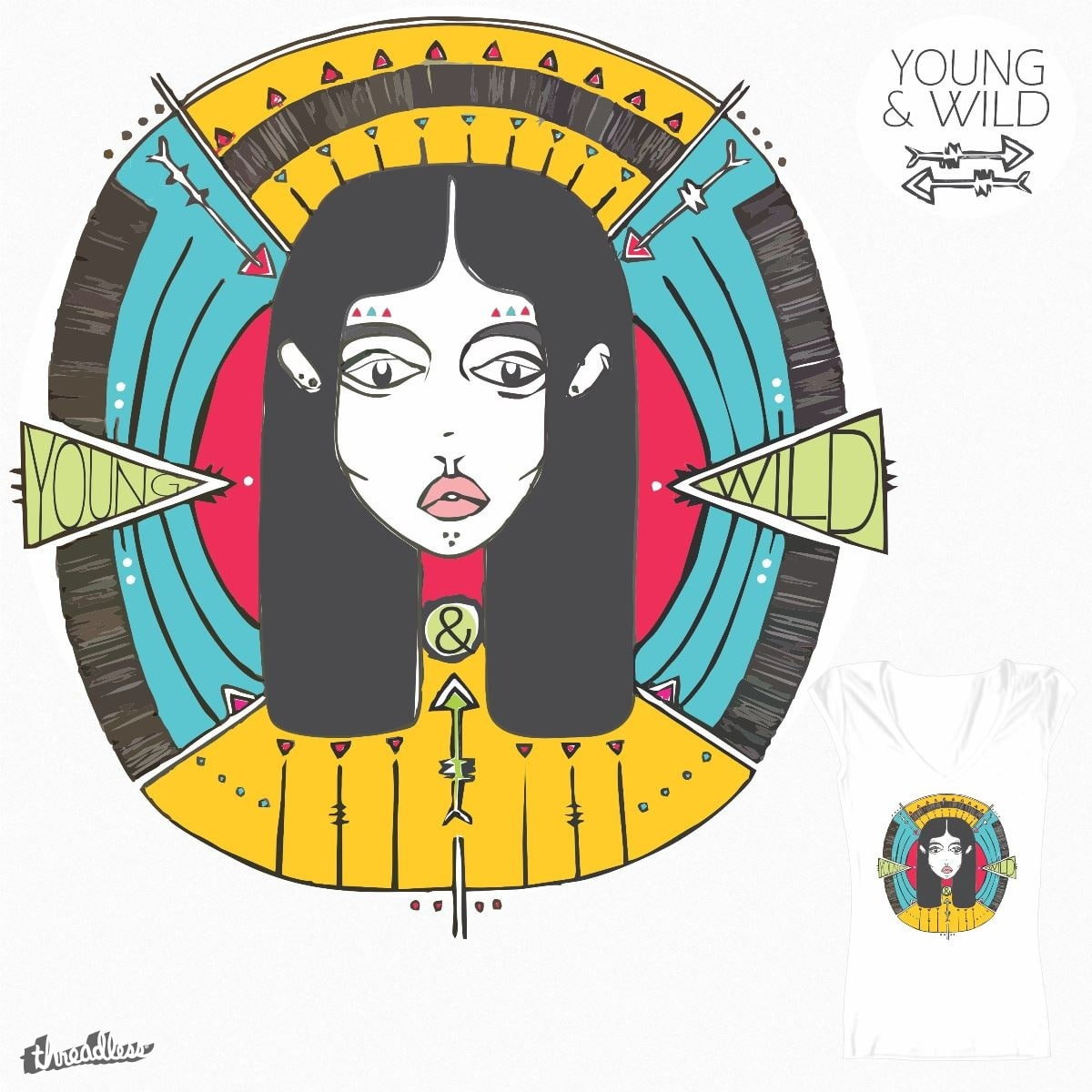 Young&Wild. by thootha on Threadless
