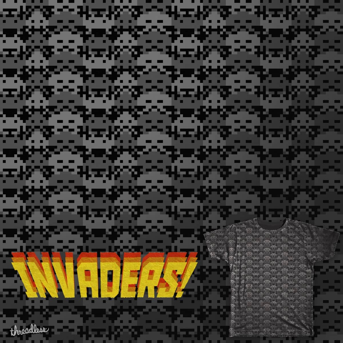 Invaders by bernaloyola on Threadless