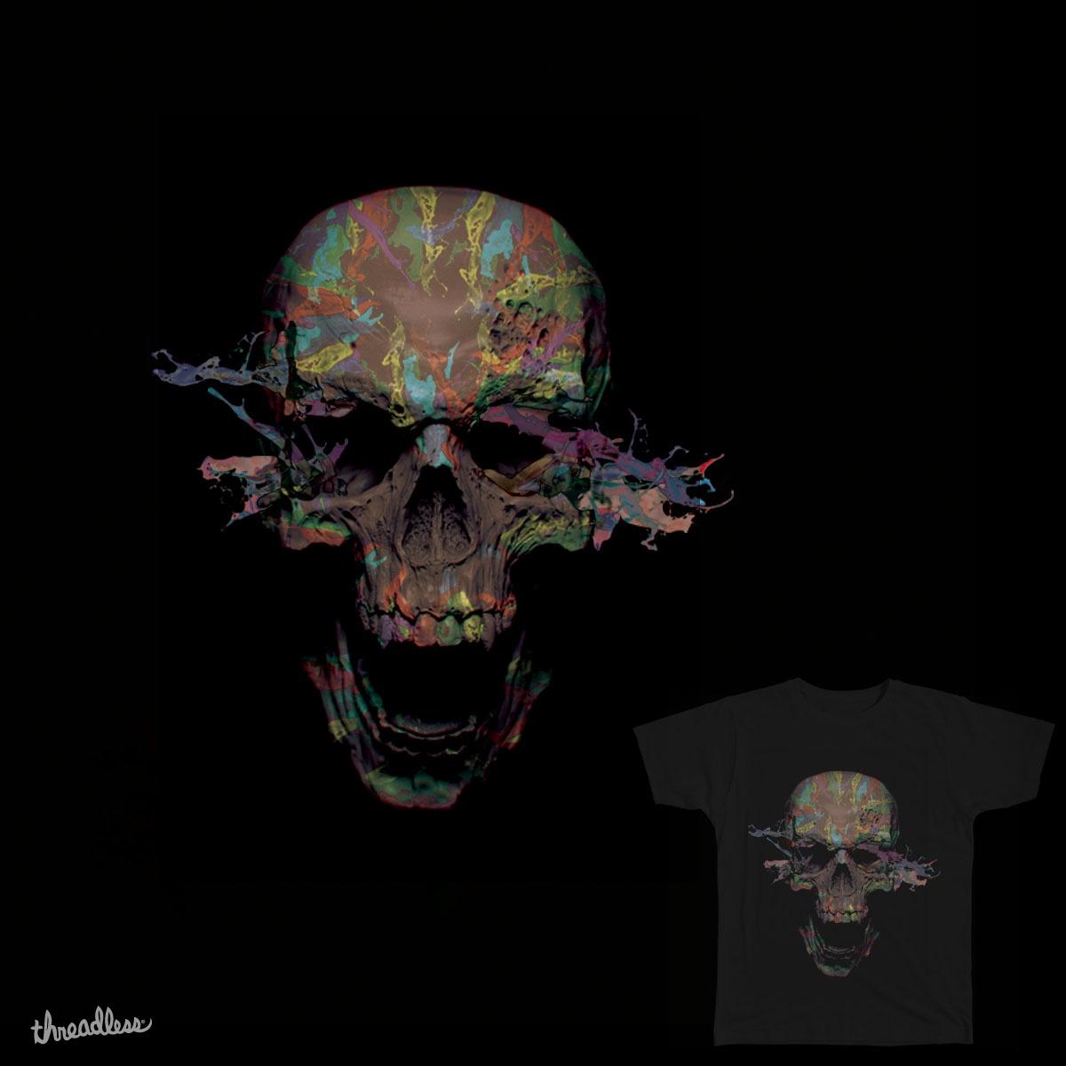 Splendid Skull by saimonanthony.a.suyko on Threadless