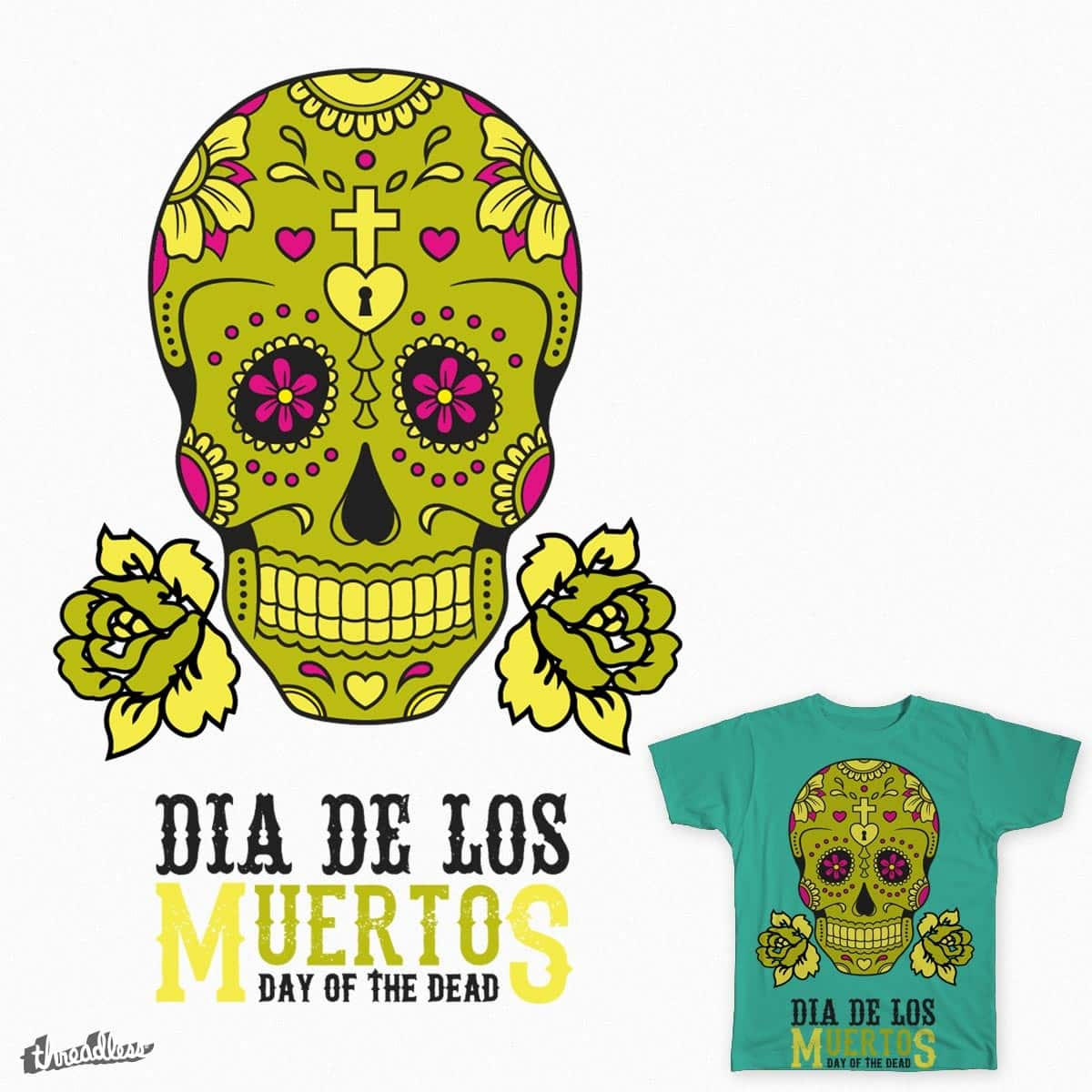 Day of the Dead by ankurverma01 on Threadless