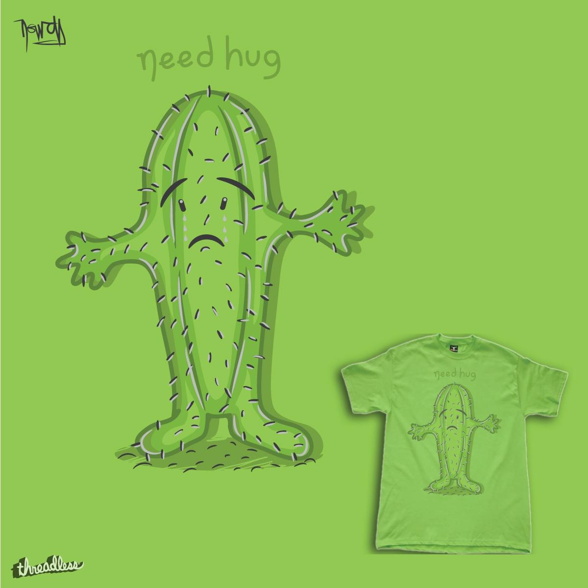 Need Hug. by je14 on Threadless