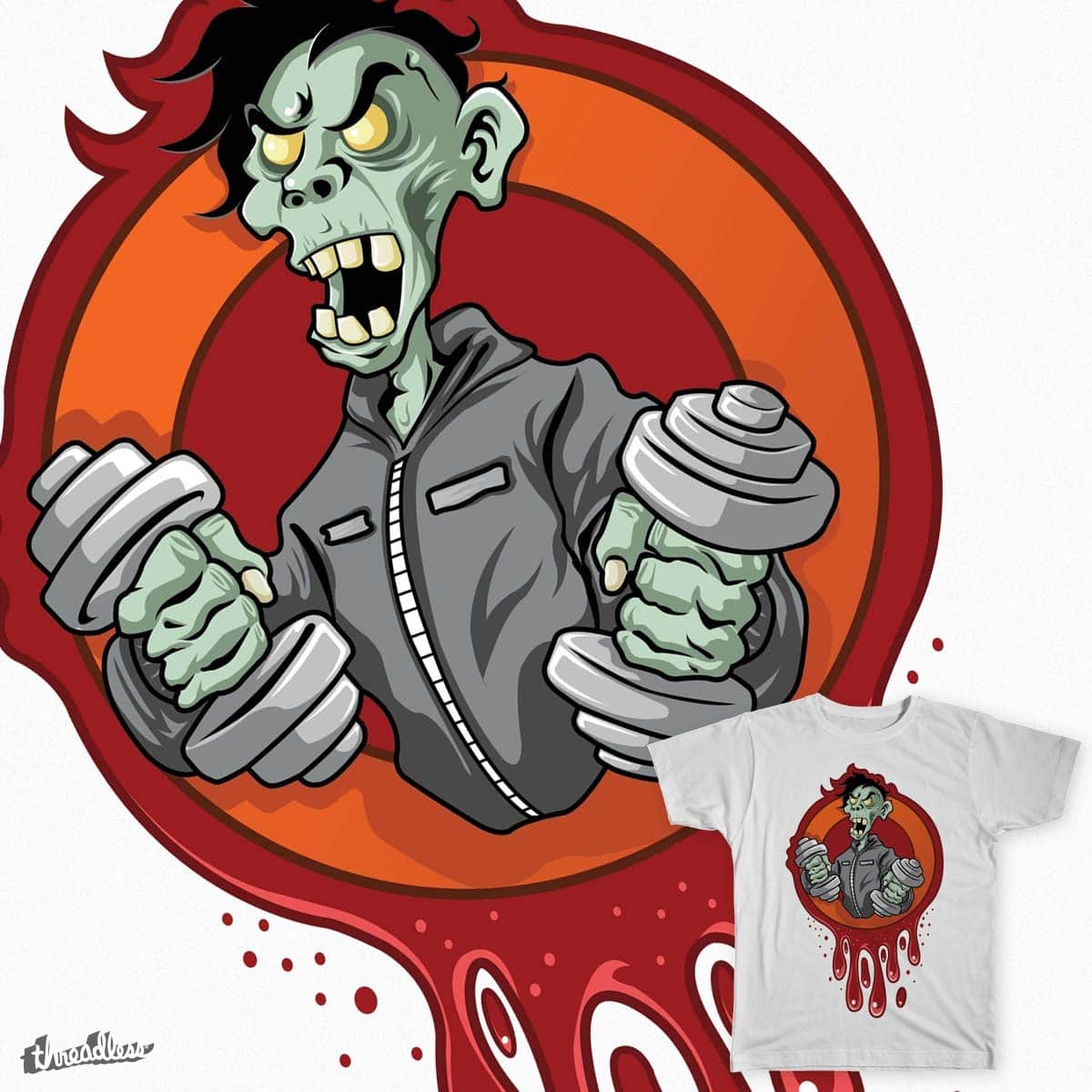 Undead Fit by Tomrez on Threadless