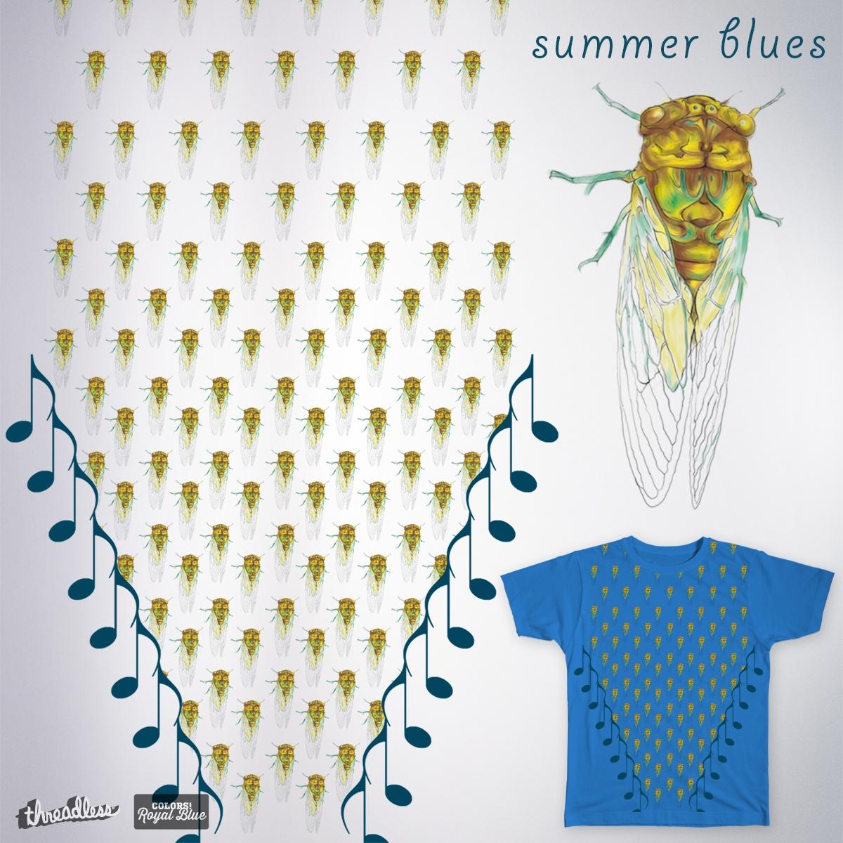 Summer Blues by RangoplanB on Threadless