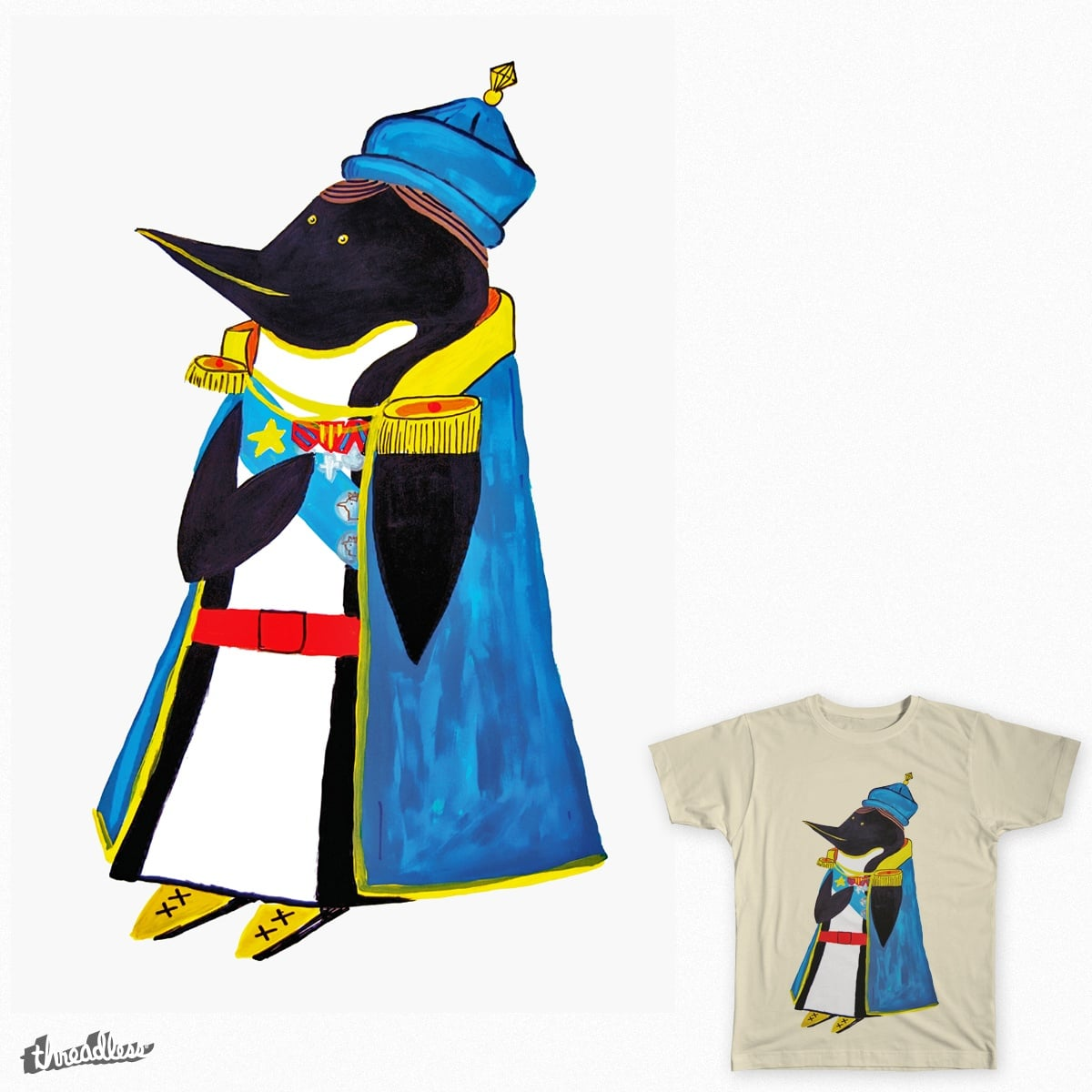 the emperor by CapitanCharls on Threadless