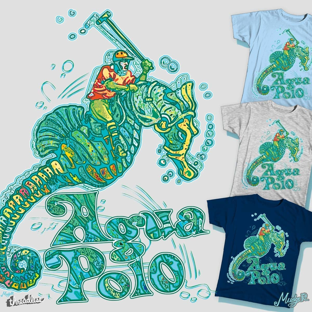 Agua Polo by MudgeStudios on Threadless