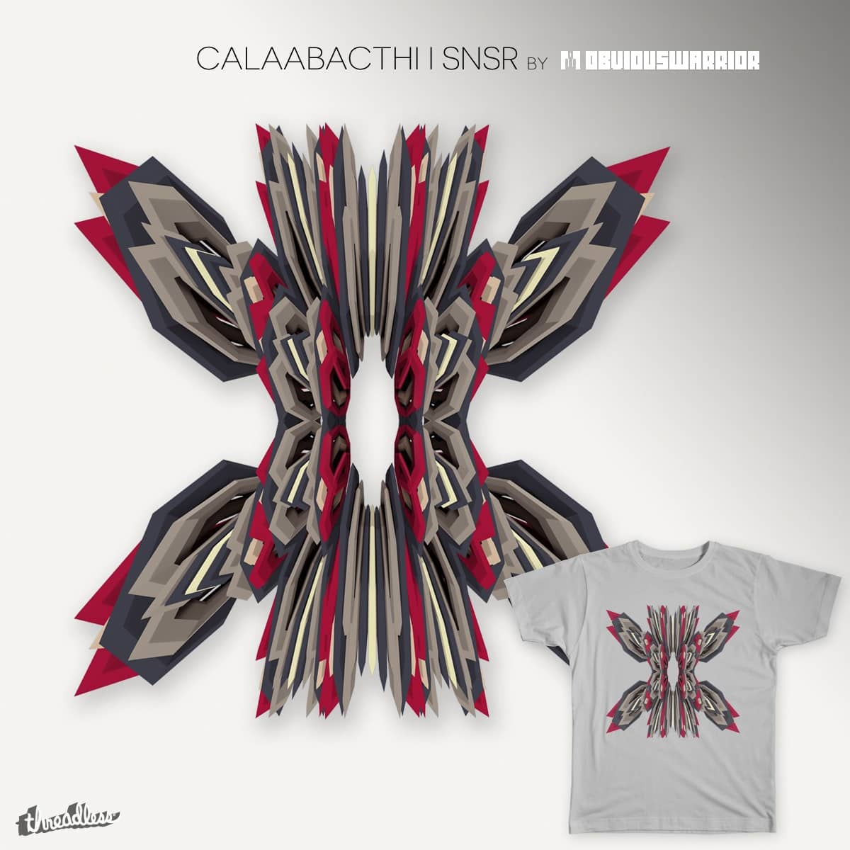 calaabachti I snsr by obviouswarrior on Threadless