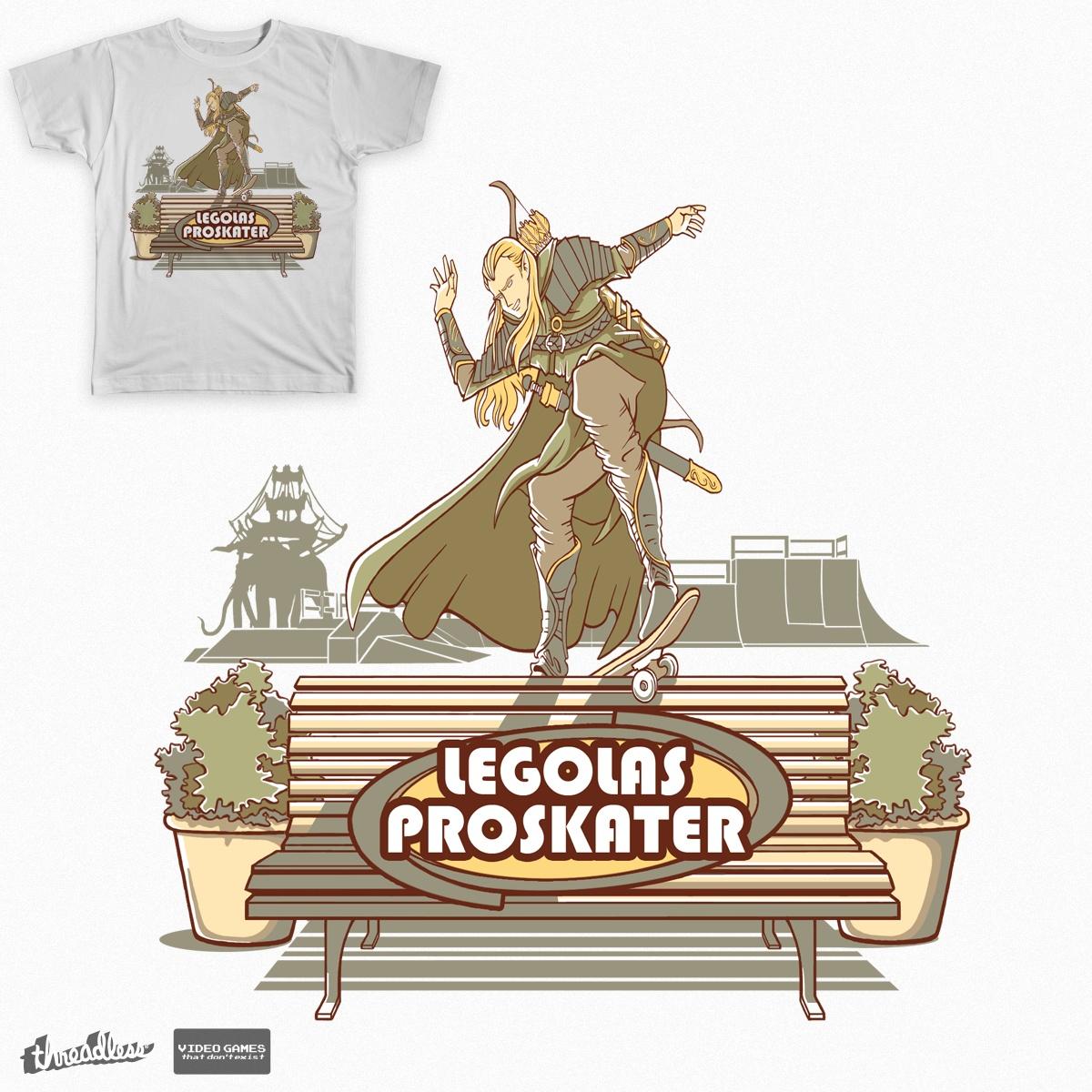 Legolas ProSkater by ferreirabruno on Threadless
