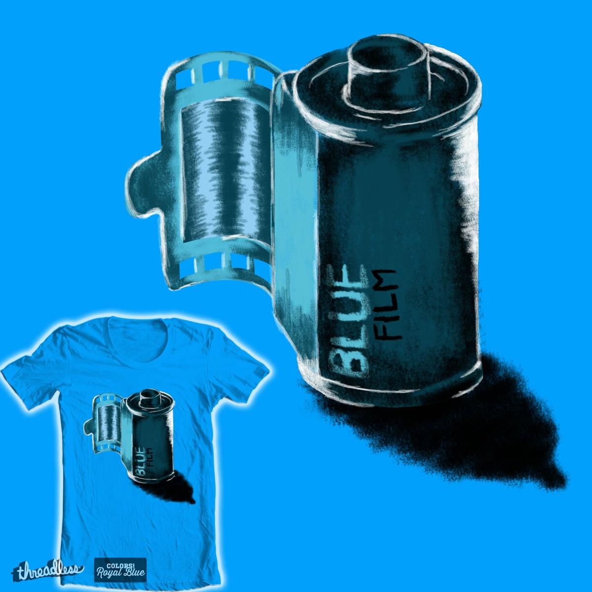 Blue Film by bayucesh on Threadless