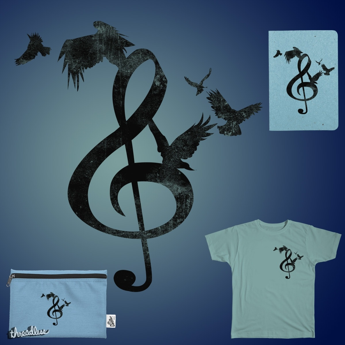 THE CROW SOUND by Max439 on Threadless