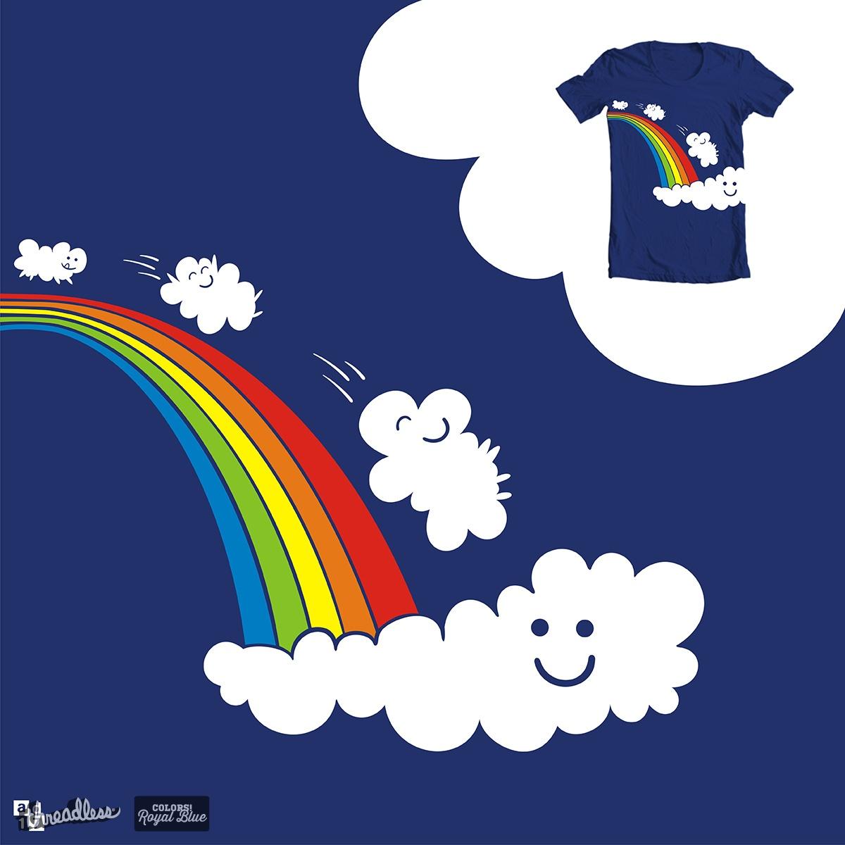 cloud play on the rainbow by a.d.17 on Threadless