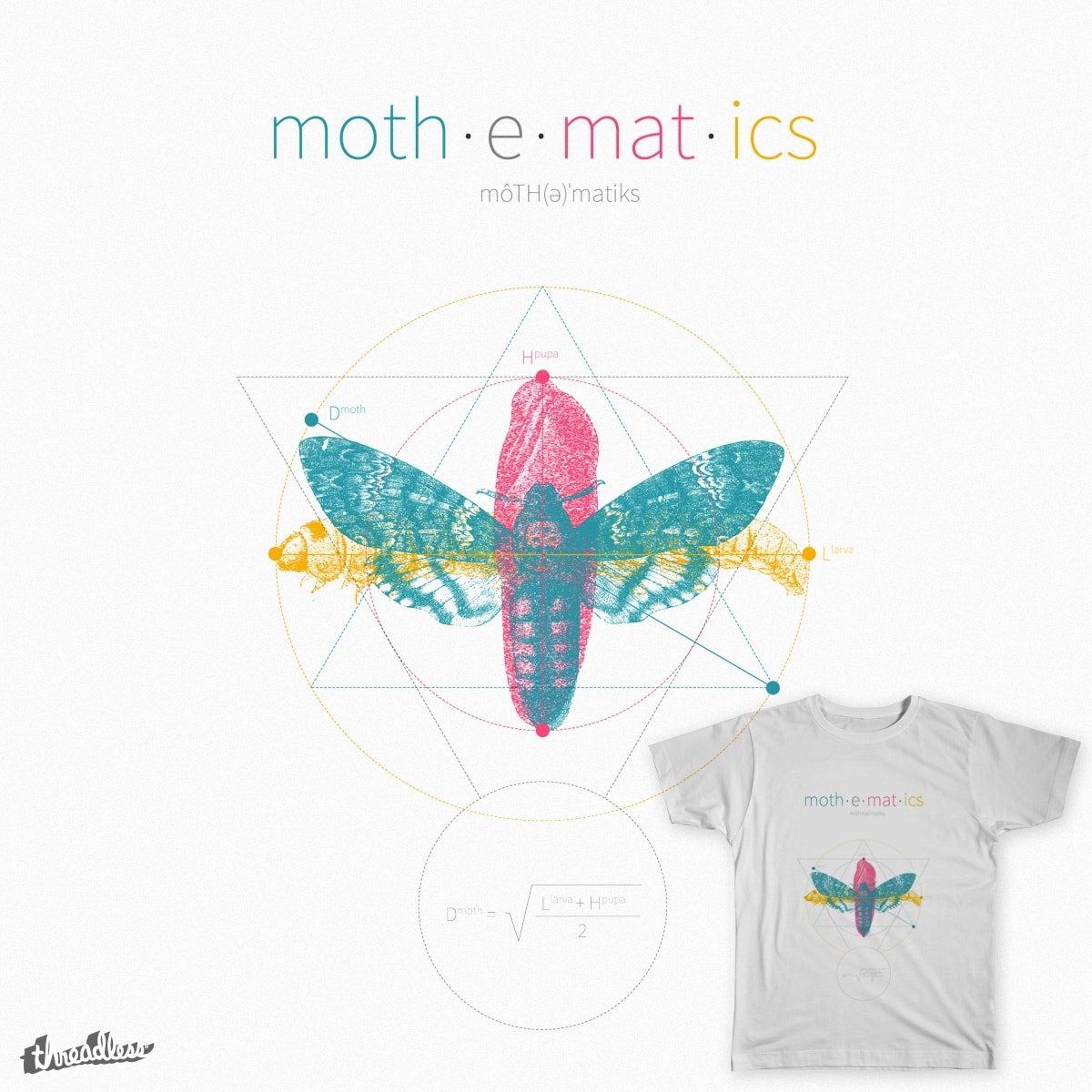 Mothematics by gotoandplay on Threadless