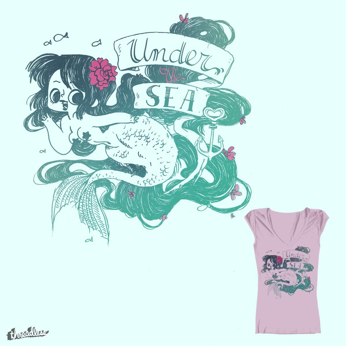 Under the Sea by MissPATY on Threadless