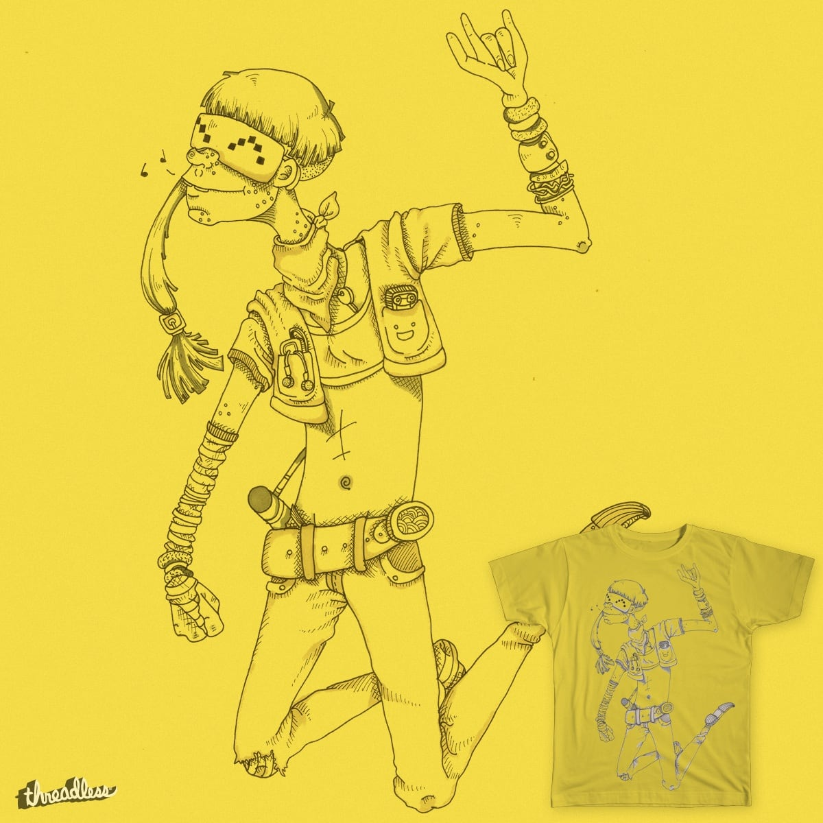 Virtual Venu by quirky woof on Threadless