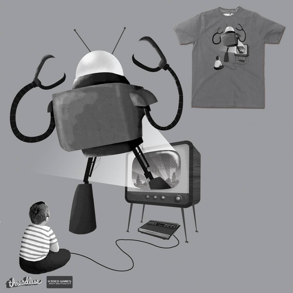 Check Out Those Graphics by DinoMike on Threadless