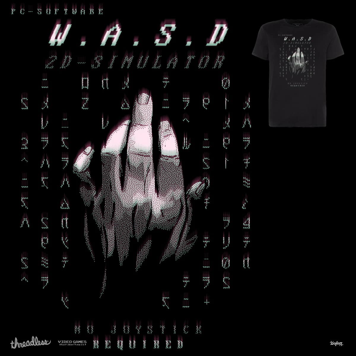 THE ULTIMATE W.A.S.D SIMULATOR by kolozz on Threadless