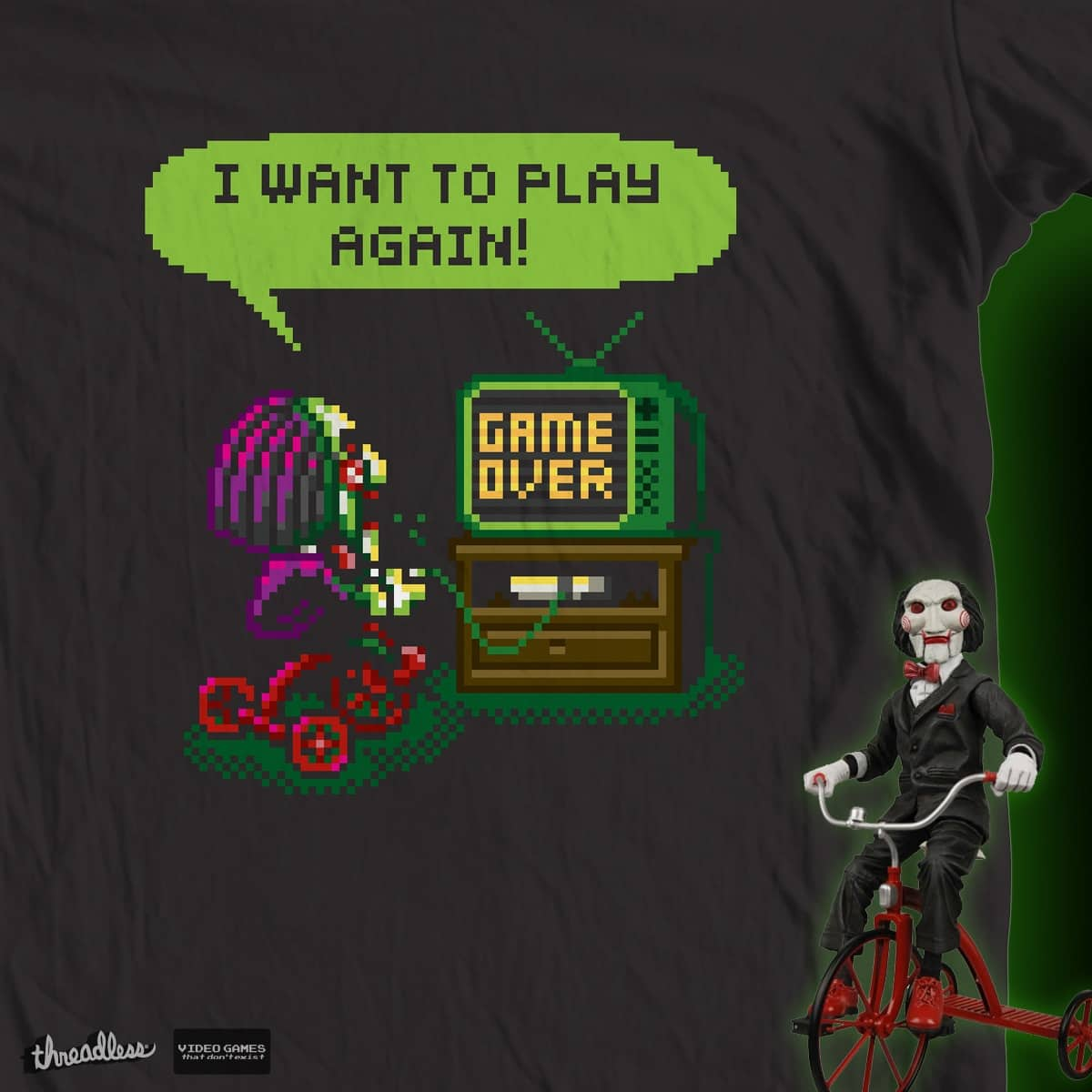 I want to play again! by smallview on Threadless