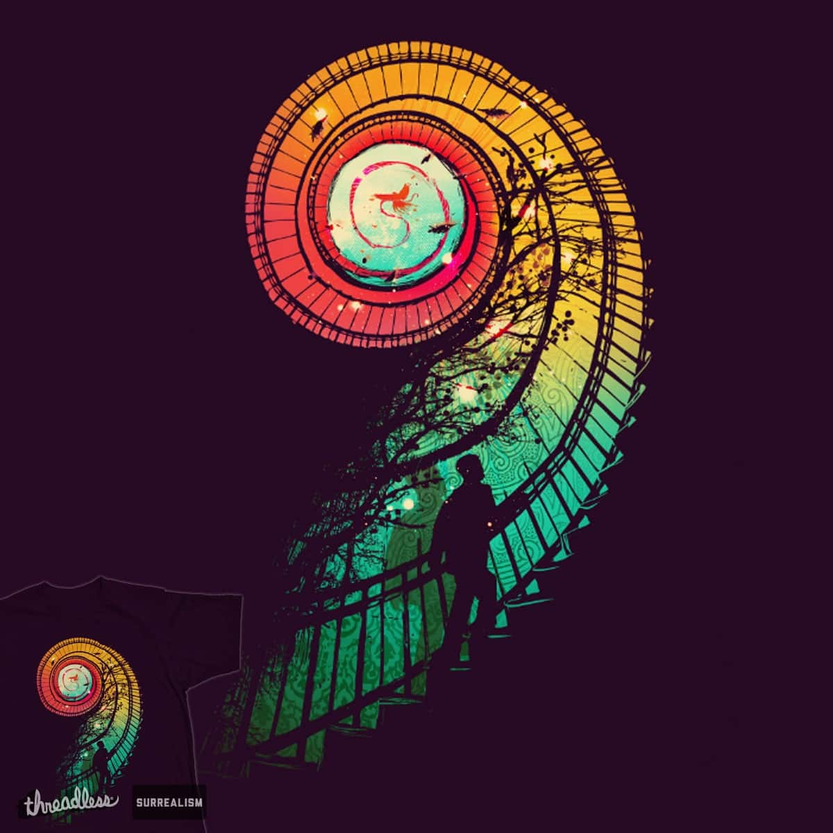 To walk a thousand miles by radiomode on Threadless
