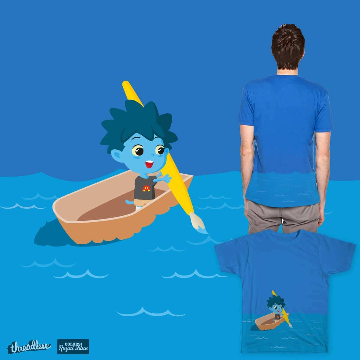 Ethan's Adventure at Sea by LittleLives on Threadless
