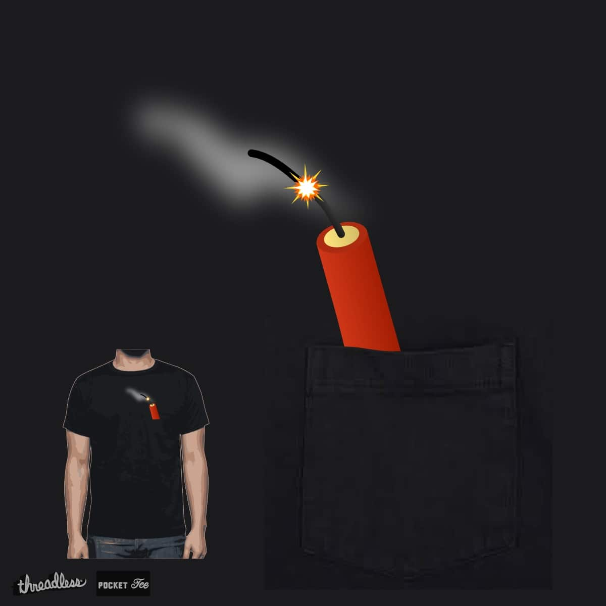 Dynamite by TRYBYK on Threadless