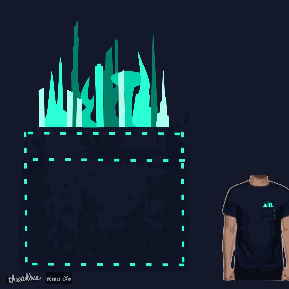 Tiny Future City by TRYBYK on Threadless