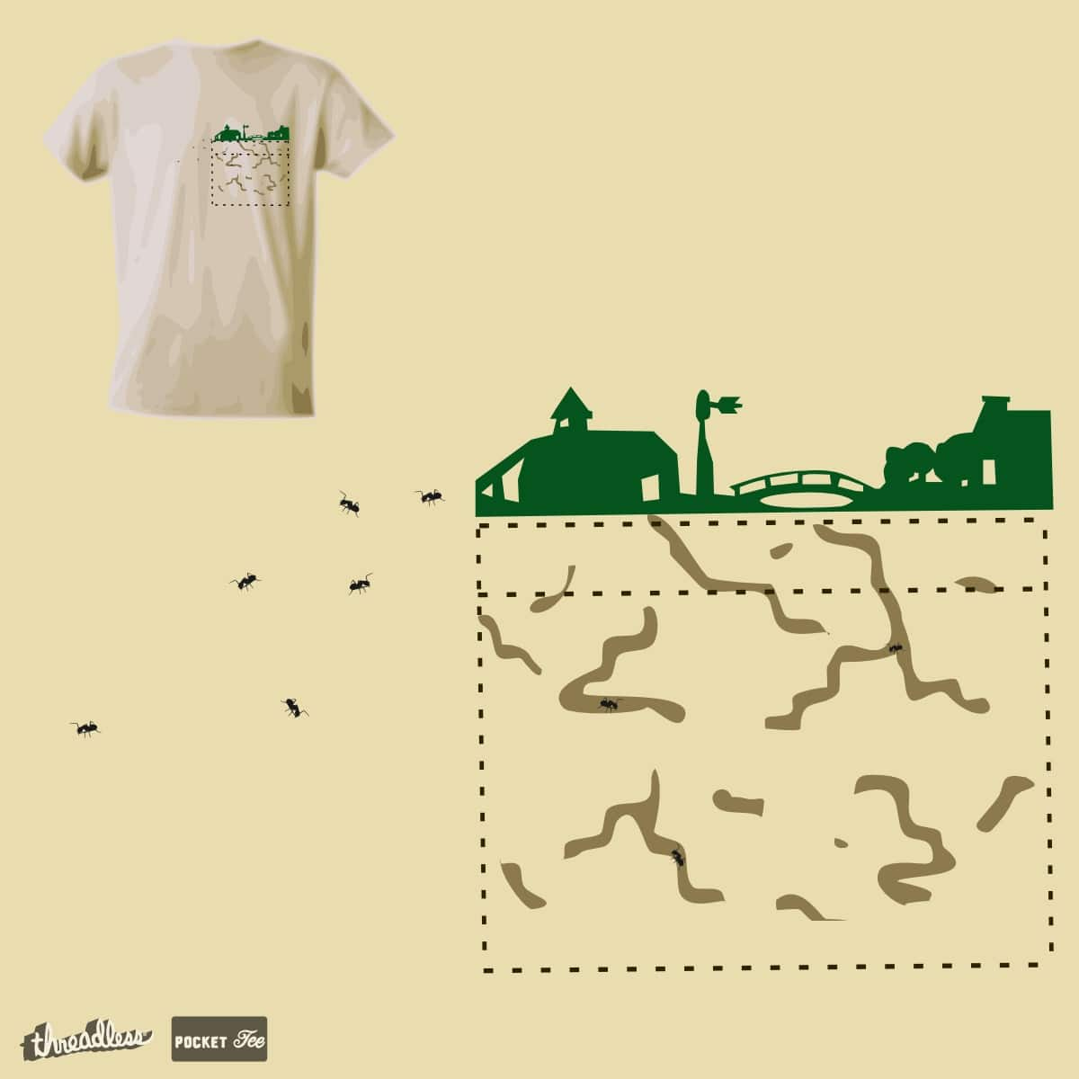 Ant Farm by TRYBYK on Threadless
